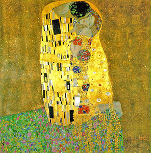 00-The Kiss, Gustav Klimt, 1909