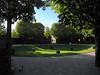 17-In a sunken garden, looking toward Lower Belvedere