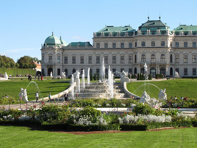 23-Upper Belvedere, upper fountain