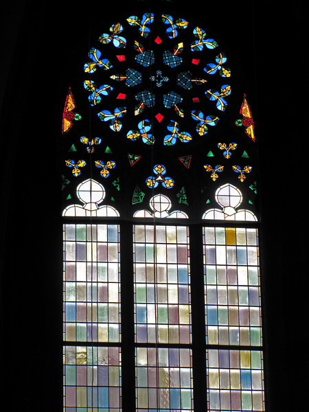 19-Stained glass window