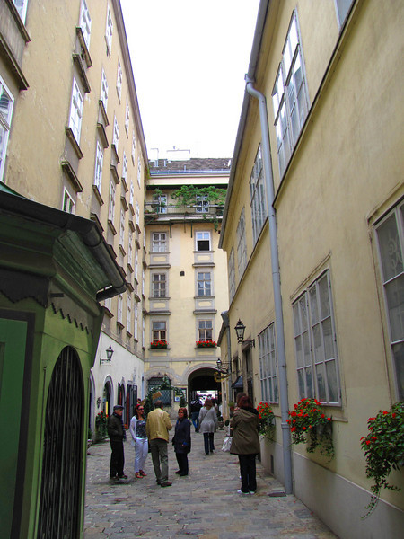 18-Through the Swiss gate, in the palace yard