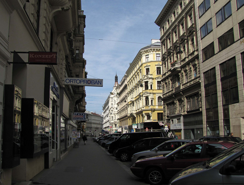 18-WipplingerStrasse, leaving the small Jewish area behind.
