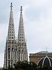44-Votiv Kirche from Rathaus Platz