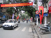 02-Hang Gai, the street in front of my hotel