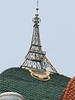10-Many buildings are capped with domes, but this one has an Eiffel Tower as well