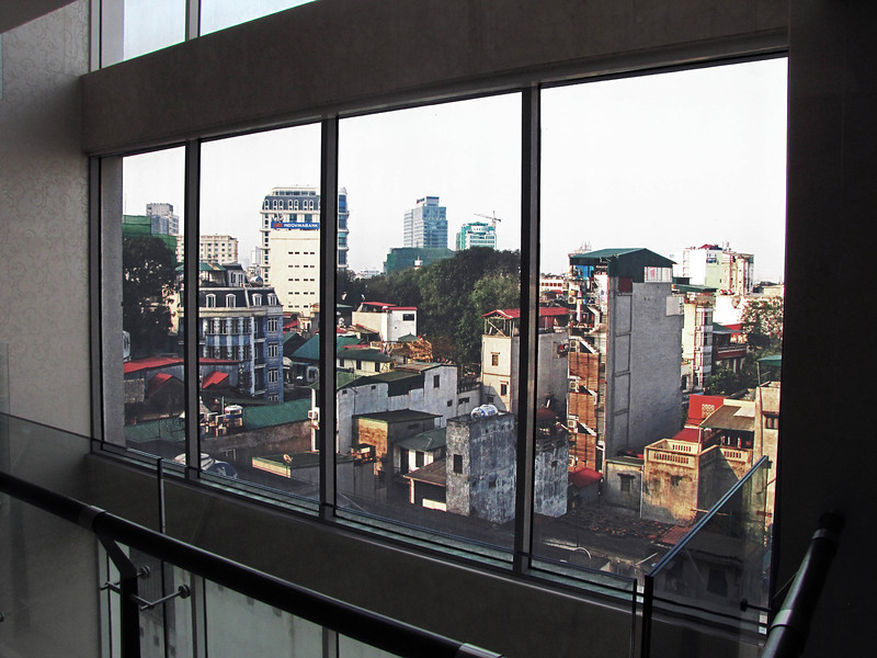 33a-Hanoi from Silk Path Hotel elevator lobby