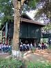 49-Ho's house, children in uniform
