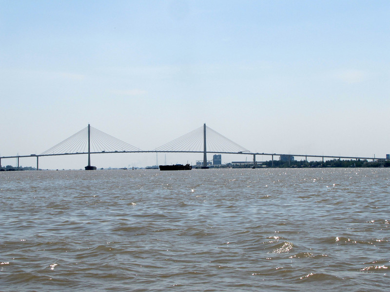 56-Highway bridge over the Mekong River