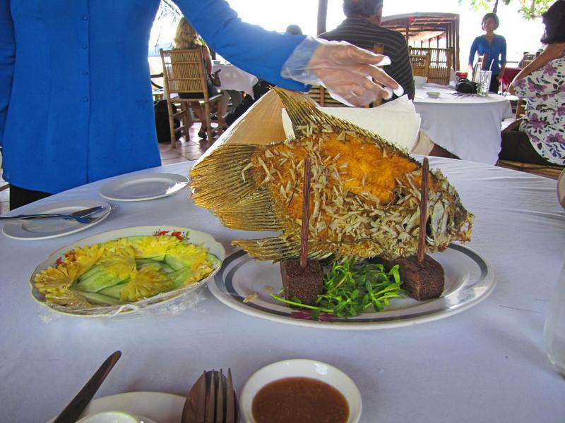 50-pineapple, cucumber, elephant ear fish, rice paper