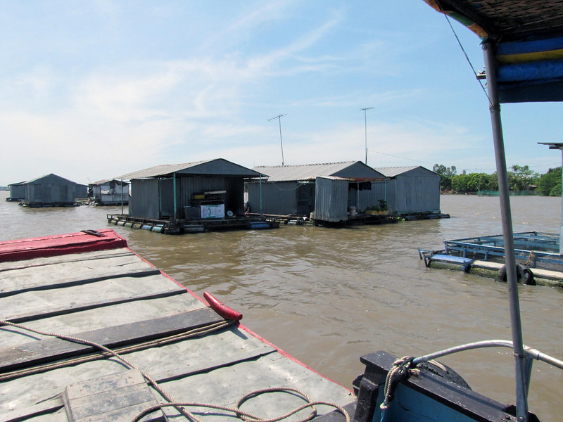 20-Fish farms on the Mekong