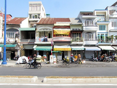 72-Saigon. Photo taken from the car enroute to My Tho and the Mekong River.