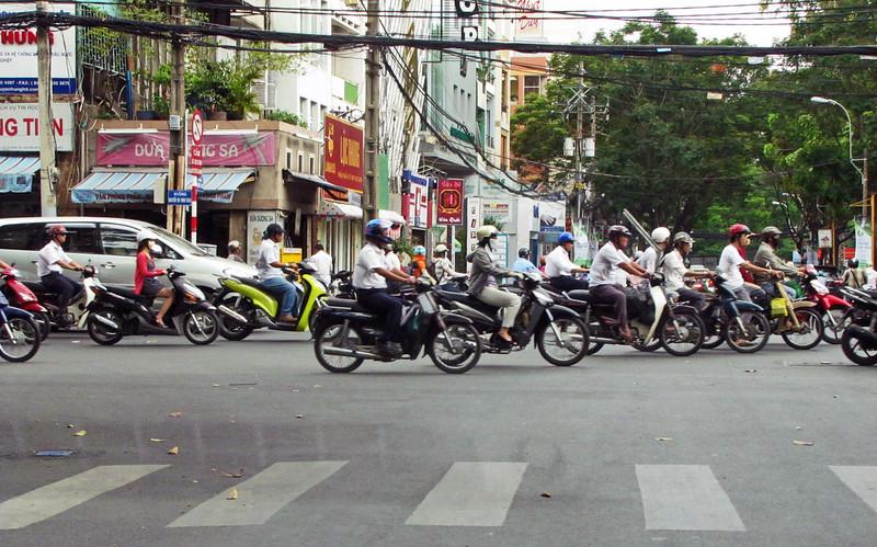 81-Caution, motorbikes crossing