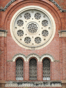 18-Notre Dame Cathedral, rose window, SE facade