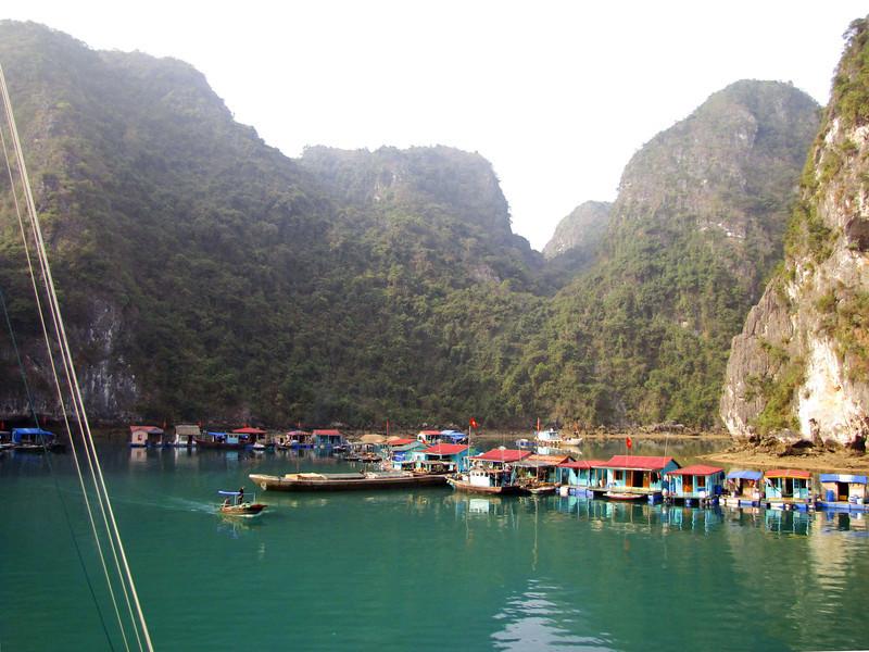 80-Floating village