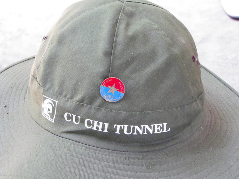 77-Uniform hat worn by VC (without the pin, name, or symbol)