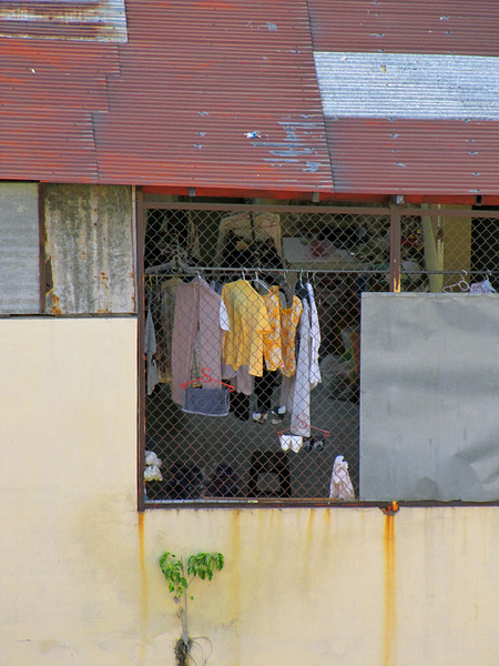 64-Hung out to dry. Seen from the Duxton.