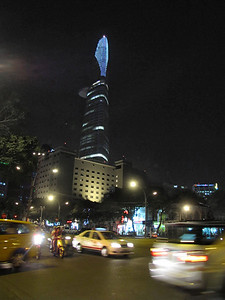 60-Bitexco Tower from Nguyen Hue Blvd