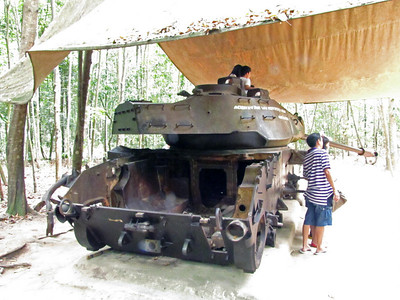 "78-M41 ""Walker Bulldog"" U.S. light tank, early 1970s."