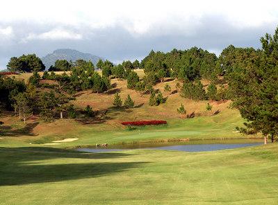 Golf -- Dalat Palace GC in Dalat, VN.