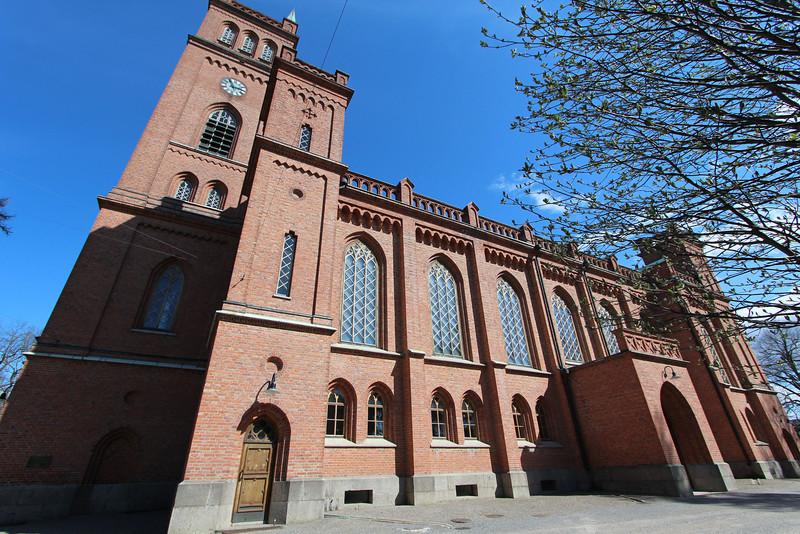 Another shot of the Vaasa church.