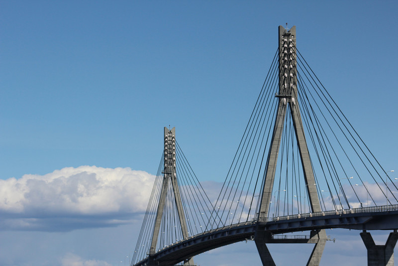Another shot of the bridge connecting the mainland with the Kvarken Archipelago.