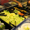 Lunchtime in Finnish schools means a relaxed, leisurely, and healthy lunch.  Check out the salad bar!