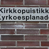 Typical street name in Vaasa.  Try to say THAT three times fast!