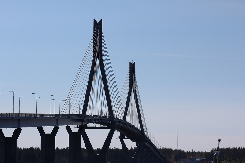 This is the bridge that connects the mainland to the Kvarken Archipelago, a UNESCO World Heritage Site.