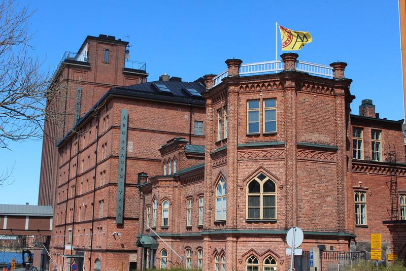 The Abo Akademi University, where Finland's Swedish speaking teachers are trained.