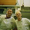 bologna ristorante grassilli, Jacques and his sous-chef