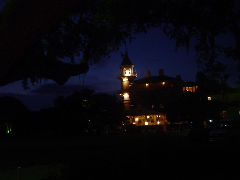Night scene of the Club.