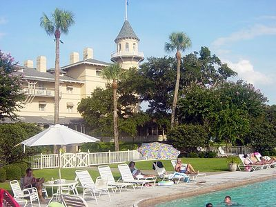 Pool at the Jekyll Island Club