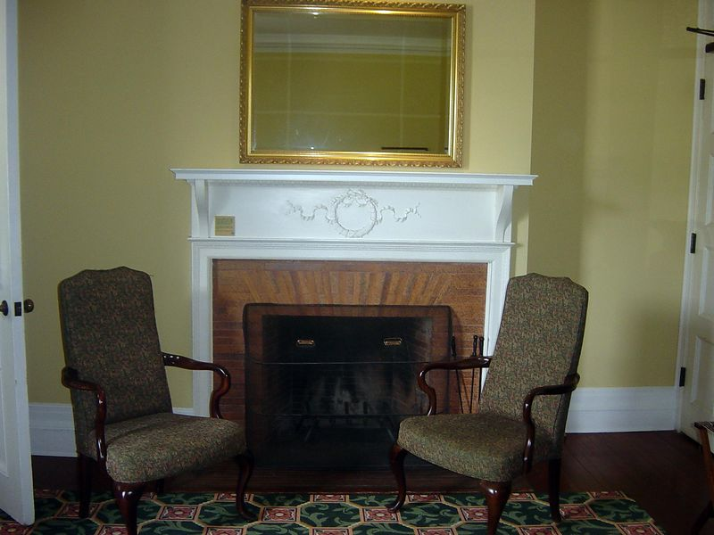 Our room at Sans Souci (ca 1896), Jekyll Island Club, Jekyll Island, Georgia.