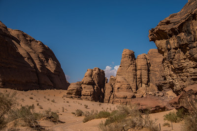 Wadi Rum desert from the 4-wheel jeep tour