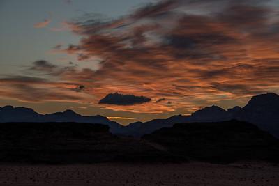 Wadi Rum Desert Sunset