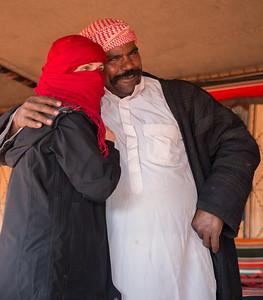 """Laura of Arabia"" and her buddy Sha'ban."