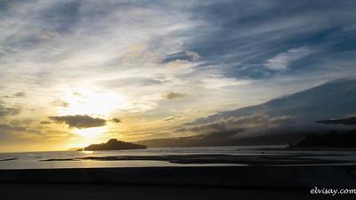 Sunset in Pontevedra