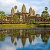 Angkor Wat before sunset, Cambodia.