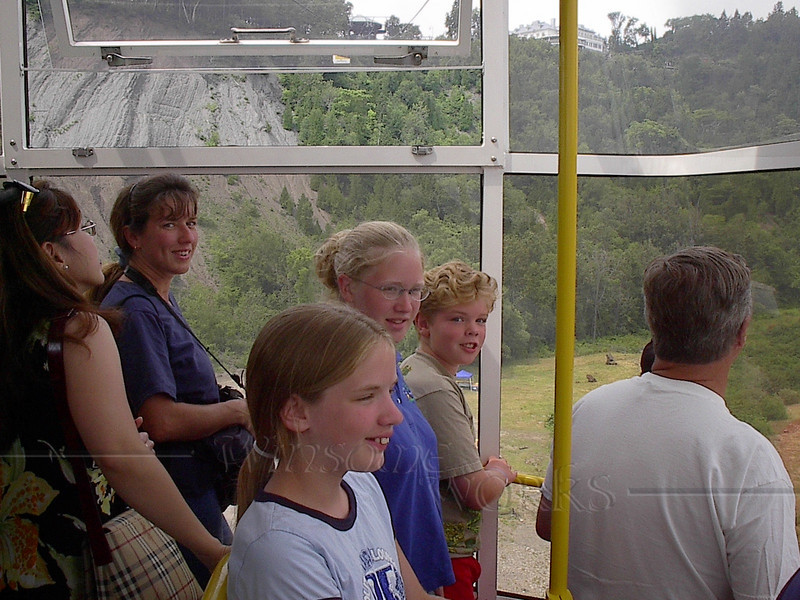 Tram at Montmorency Falls, Quebec
