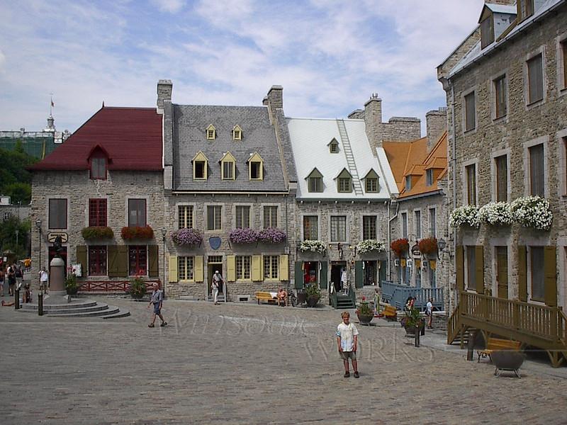 Old Square, Quebec City
