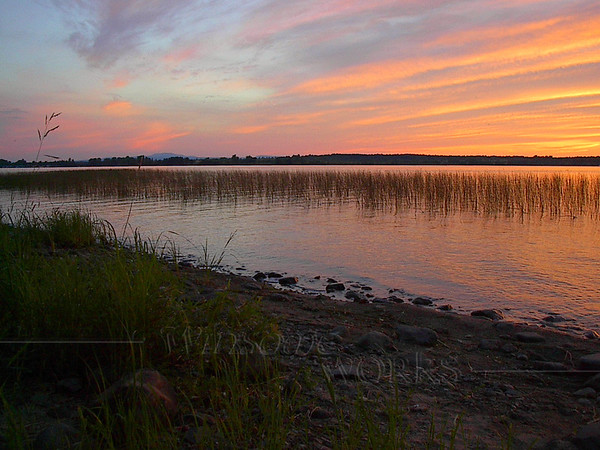 Lake Champlain Sunset, from Grand Isle, Vermont?