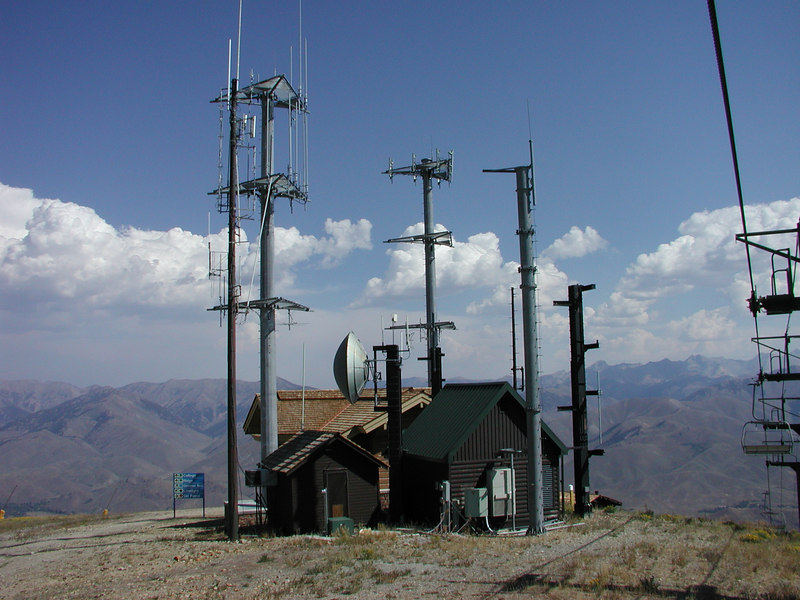 If there is a mountain, someone will put an antenna on it.