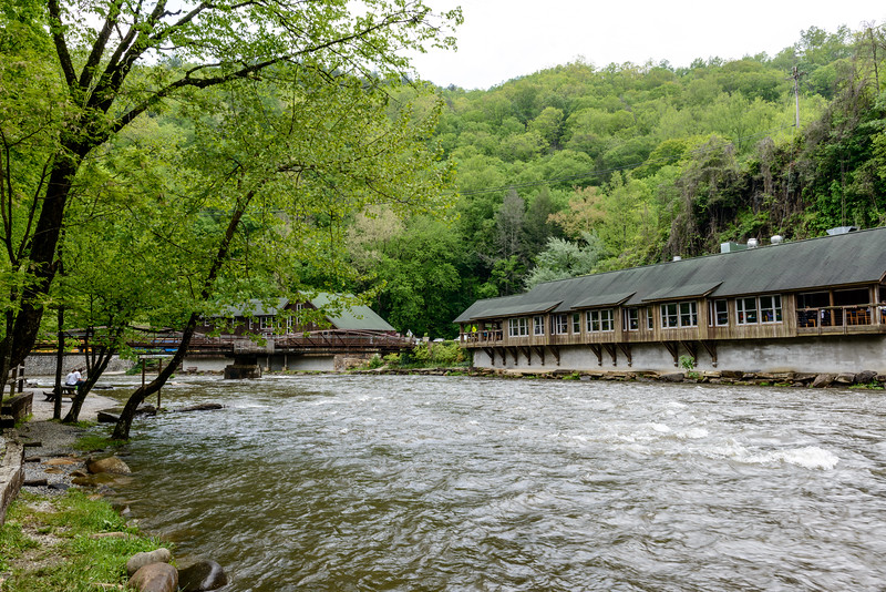 Nantahala Outdoor Center - take-out point for rafting - stopped on first day, came back later