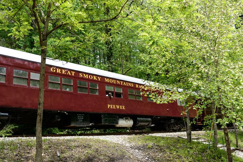 Tourist train through mountains (we did not go)