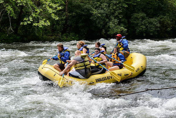Nantahala River - first stop in mountains - Patton's Overlook