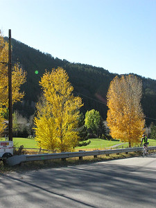 This is an off Interstate road heading into Vail.  We cruised through Vail and went on to Avon a little farther west.