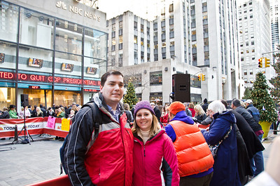 Helen and I at the Today Show