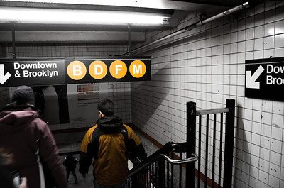 Entering the Subway