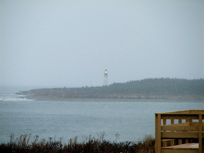 Fort Petrie Military Museum - view of Low Point Lighthouse