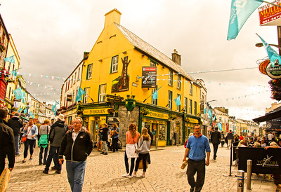 Mid-town Galway City